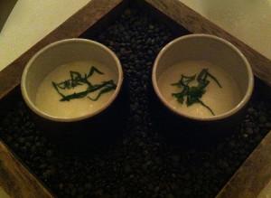Linzen & Yoghurt espuma