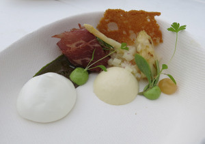 La Chapelle - Salade van asperges & geitenkaas